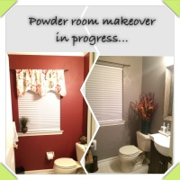 DIY- Powder Room Renovation