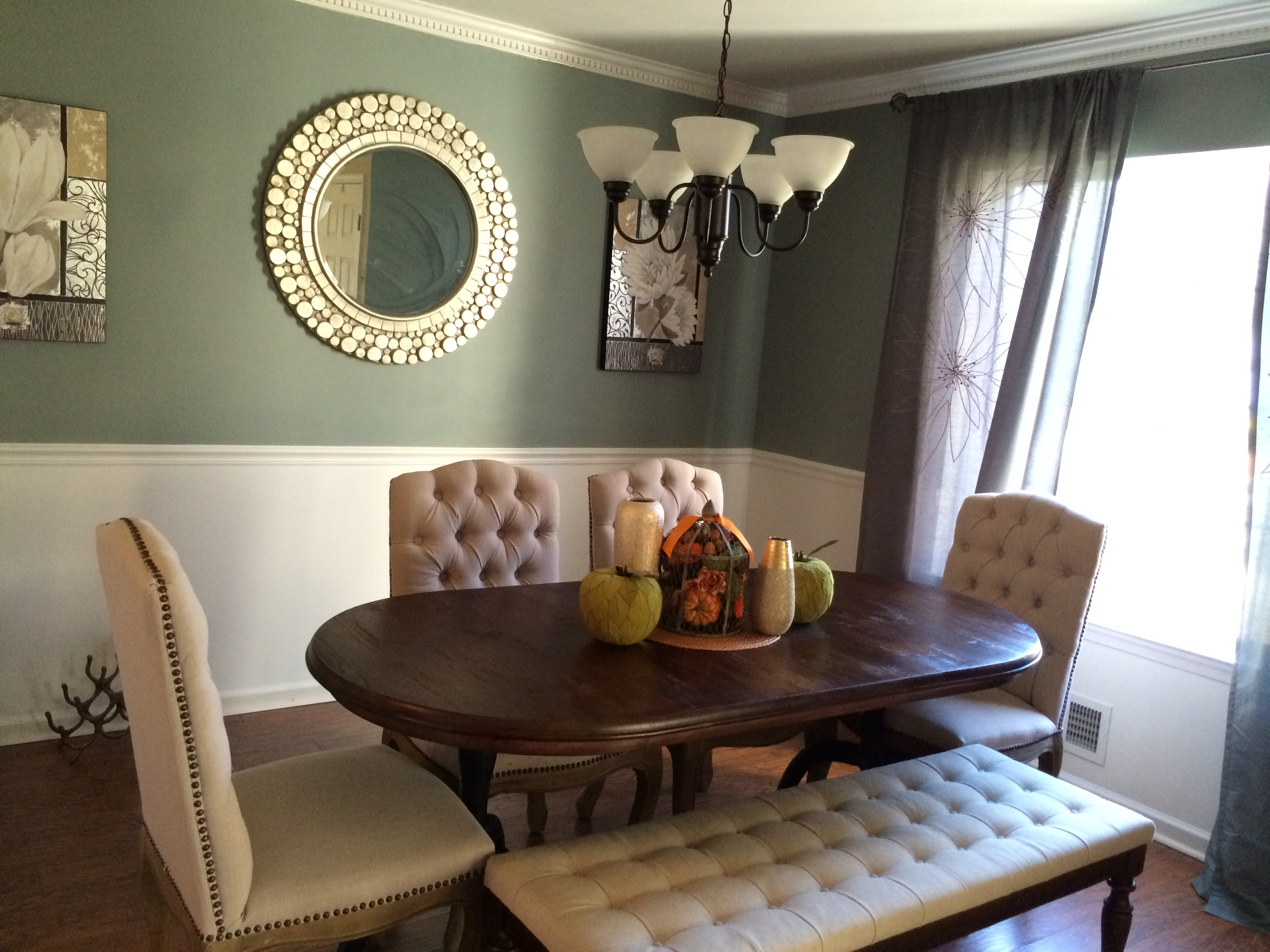 update dining room makeover