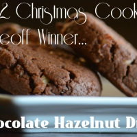 Foodie Friday- Home for the Holidays Edition: Chocolate Hazelnut Drop Cookies