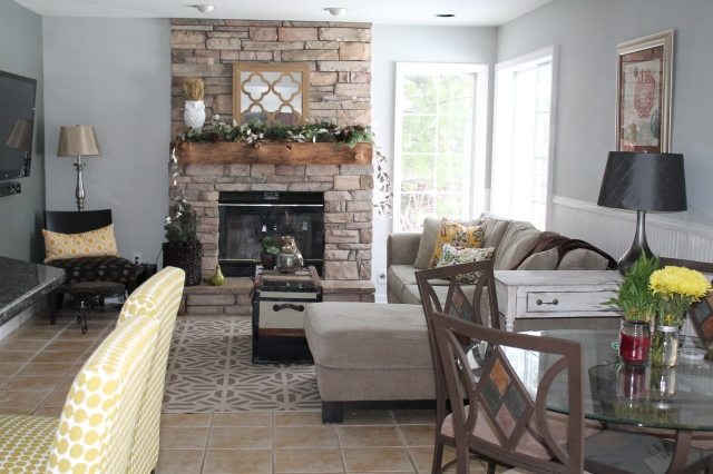 Favorite Family Room Makeover | making it in the mountains