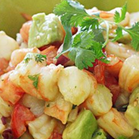 Foodie Friday: Shrimp and Avocado Salad
