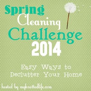 Spring Cleaning Challenge Declutter your home