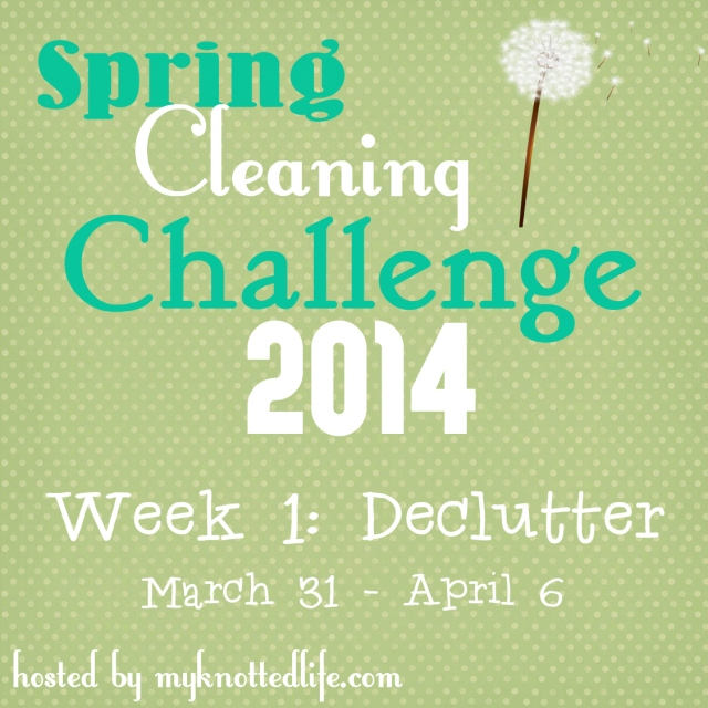 Spring Cleaning Challenge week 1