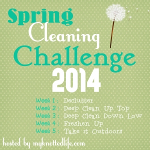 Spring Cleaning Weekly Agenda