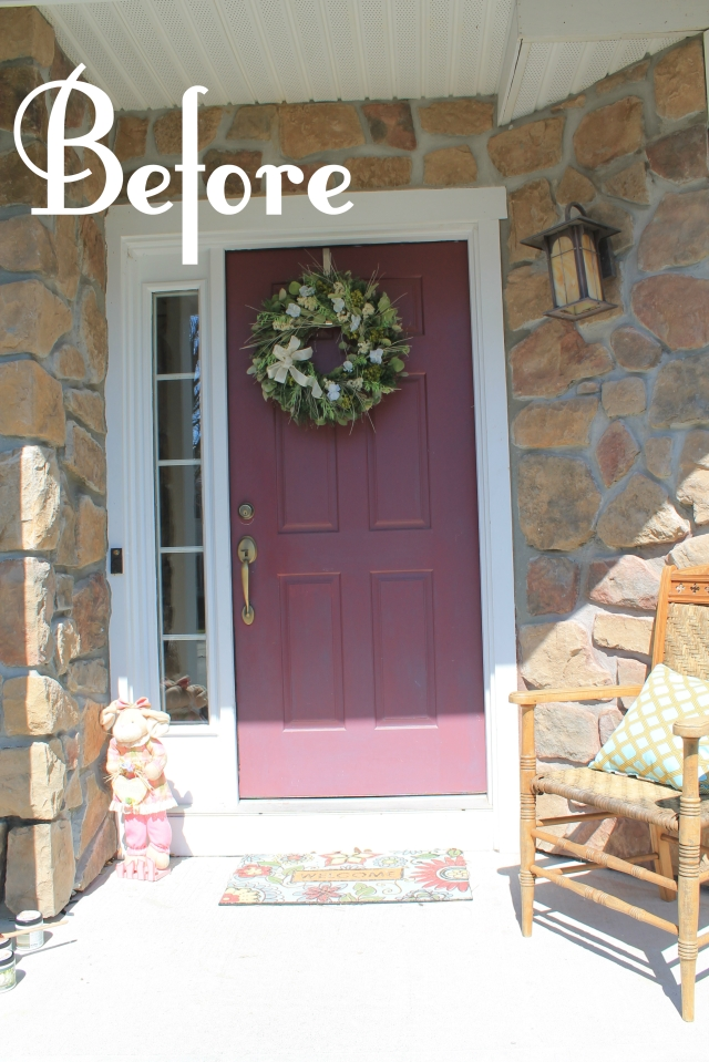 Front Door Before 3
