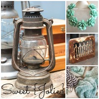 The Home Girls and Sweet {Jolie} Giveaway- Vintage Home Tour Part 2